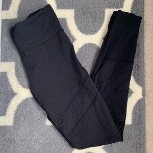Lululemon black Moto leggings